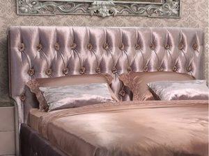 Перетяжка изголовья кровати в Королёве